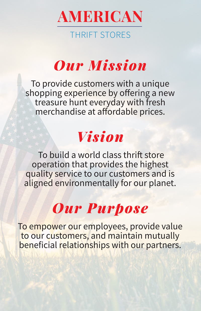 Mission, Vision, Our Purpose